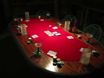 Homemade Poker Table